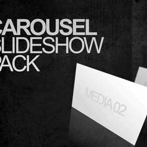 Carousel pack of After Effects slideshow templates