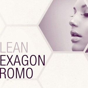Clean White Hexagon After Effects Template