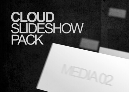 Cloud pack of After Effects slideshow templates