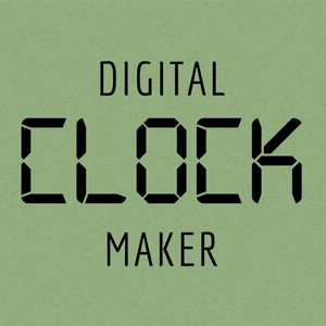 Digital Clock Maker After Effects Template