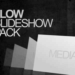 Flow pack of After Effects slideshow templates