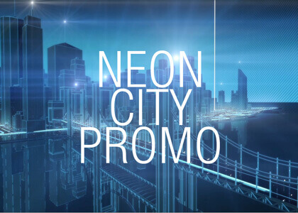 Neon City Promo After Effects Template