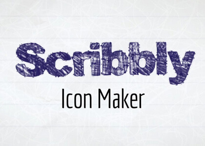 Scribbly Icon Maker After Effects Template