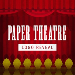 Paper Theatre Logo Reveal – After Effects Template
