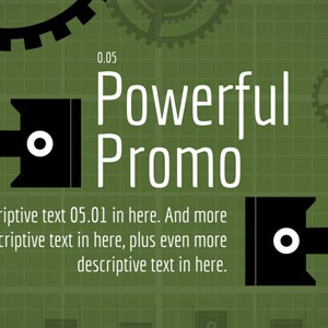 Powerful Product After Effects promo template