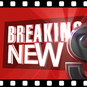 Breaking_News_3D_Text_HD stock video animated clip