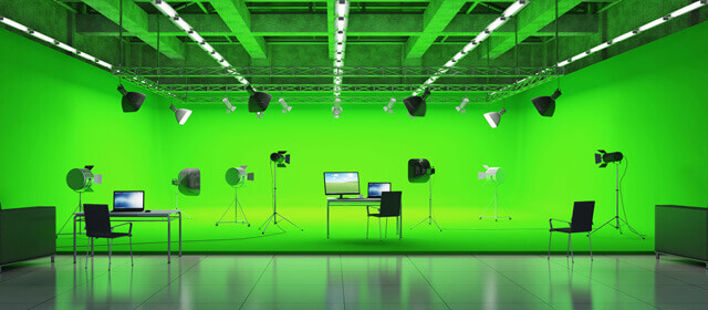 How to chroma key green screen footage