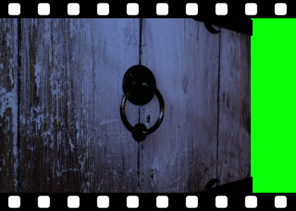 Old_Wooden_Door_Opening_HD stock video animated clip