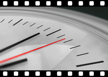 Clock_Seconds_Ticking stock video animated clip