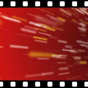 Speeding_Particles_Red_Loop stock video animated clip