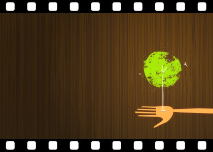 Tree_Growth_From_Hand stock video animated clip