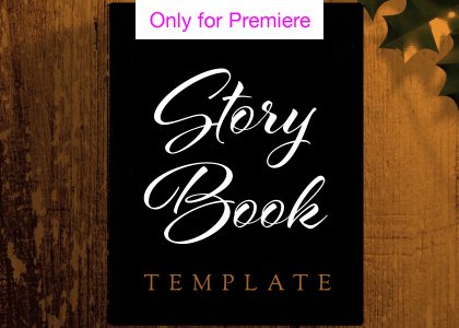 Story Book Motion Graphics Template for Premiere Pro