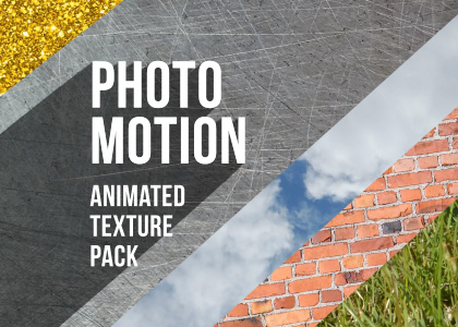 Photo Motion Animated Texture Pack Feature
