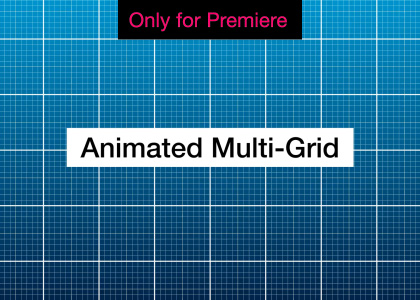Grids Motion Graphics Template for Premiere Pro
