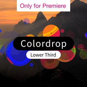 Lower Thirds Motion Graphics Template for Premiere Pro