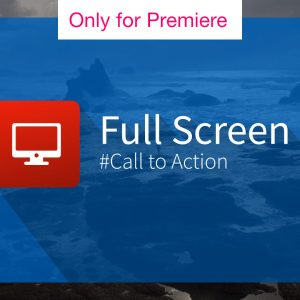 Full Screen Call to Action – Motion Graphics Template