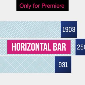 Horizontal Bar Infographic – Motion Graphics Template