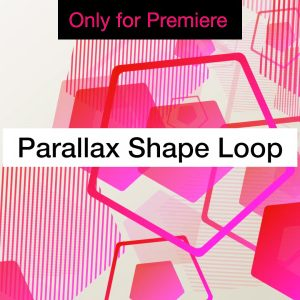 Parallax Shapes Background Motion Graphics Template for Premiere Pro