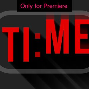 Time Passing Transition Motion Graphics Template for Premiere Pro
