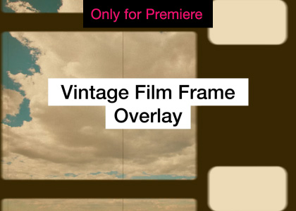 Vintage Film Overlays Motion Graphics Template for Premiere Pro