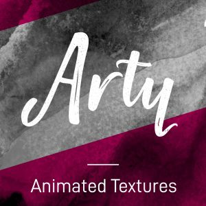 Animated arty stop-frame motion textures pack