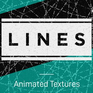 Animated lines stop-frame motion textures pack