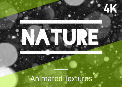 Animated nature stop-frame motion textures pack