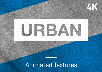 Animated urban stop-frame motion textures pack