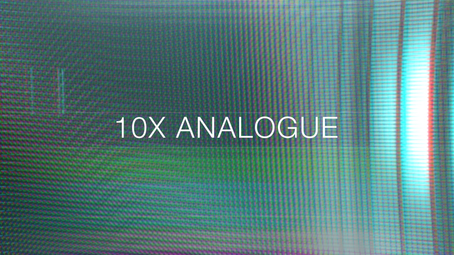 Glitch effect video overlays transition pack analogue