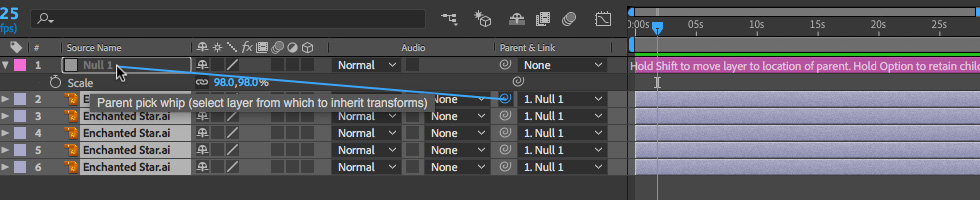 03 How to Transform Multiple Objects in After Effects