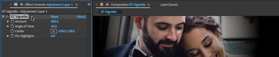 07 How to Create a Vignette in After Effects