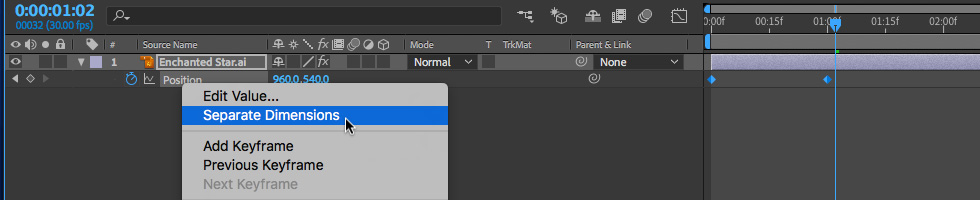 09 How to Edit X and Y Positions Separately in After Effects