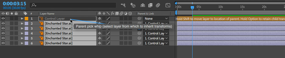 14 How to Parent Layers for Flexibility in After Effects