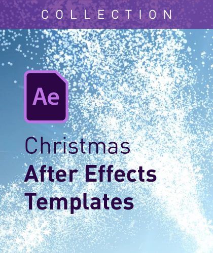 Christmas After Effects Templates from Enchanted Media