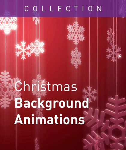 Christmas Background Animations from Enchanted Media