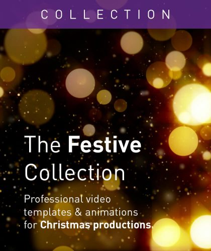 Festive Video Templates and Animations from Enchanted Media