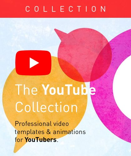 Video Templates and Animations for YouTube from Enchanted Media