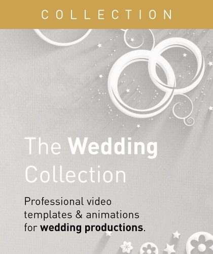 Wedding Video Templates and Animations from Enchanted Media