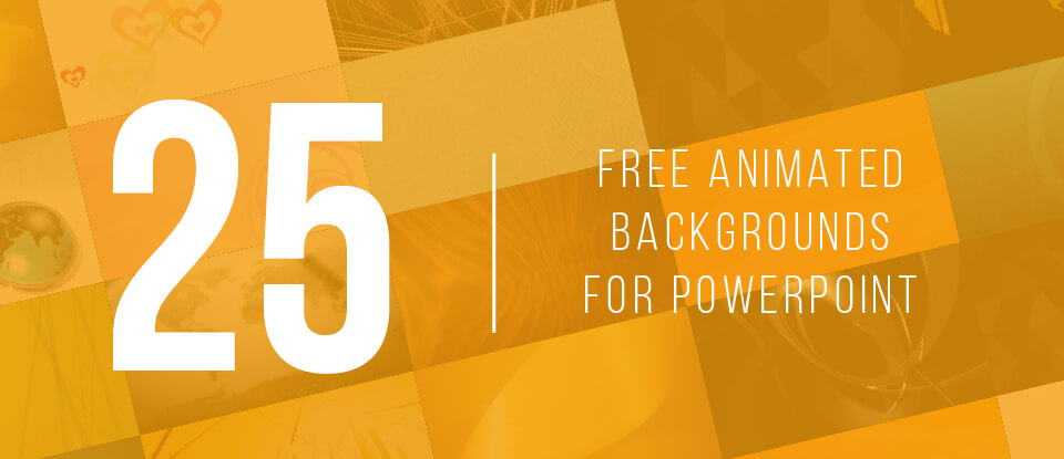 25 Free Animated Backgrounds for PowerPoint Feature