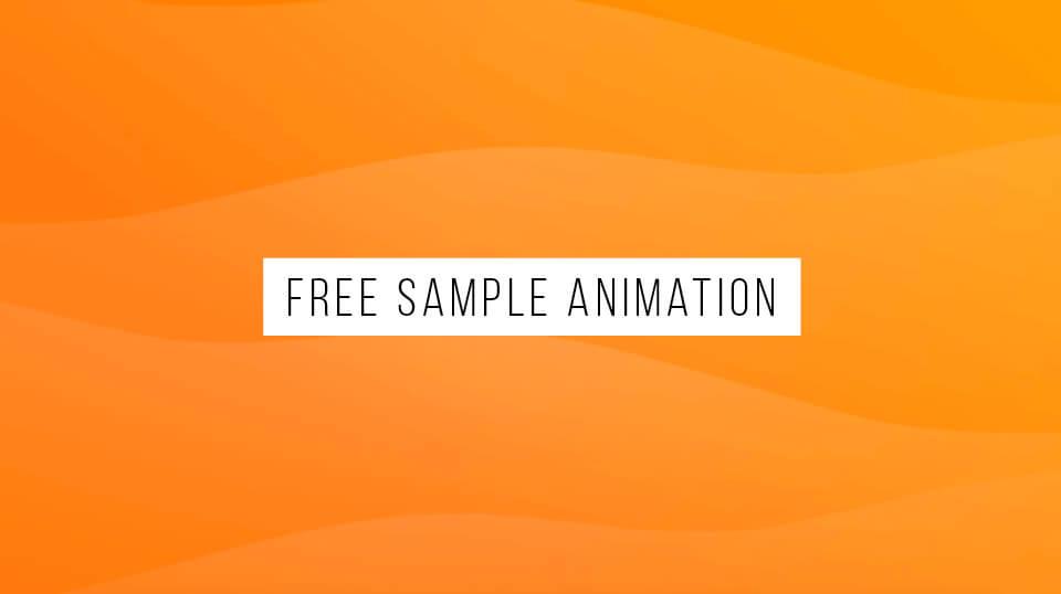 Free Animated Background Sample 2
