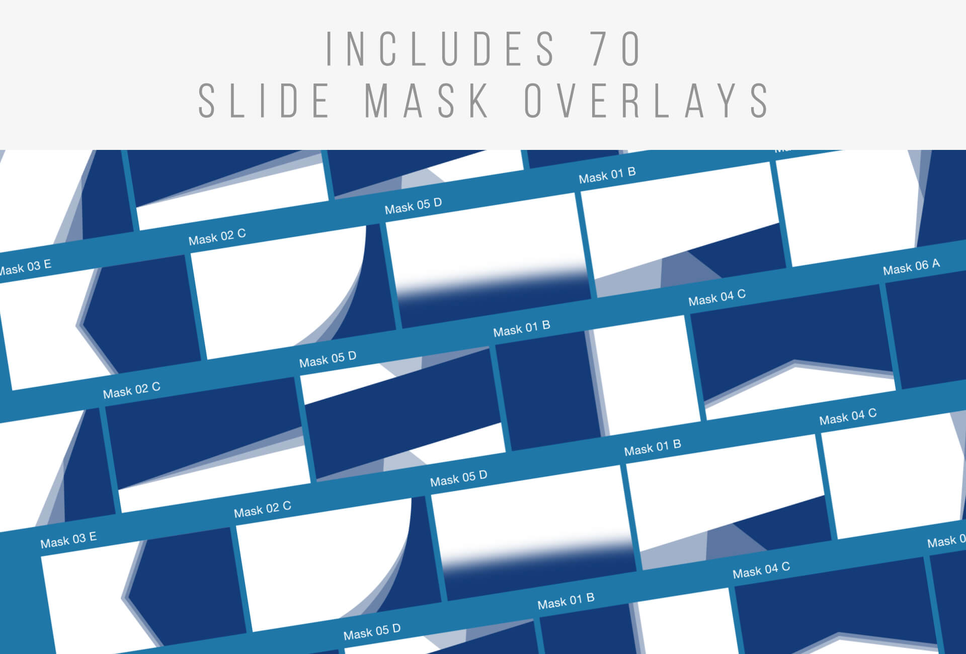 Free Slide Mask Overlay Pack for PowerPoint