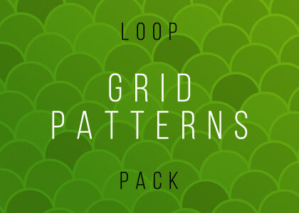 Grid Pattern Video Loops Pack Feature