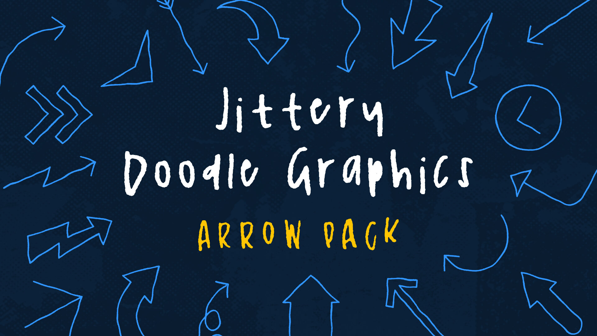 Jittery Doodle Graphics - Arrows Pack - Animation FX Thumbnail