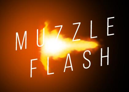 Muzzle Flash Generator Overlay Premier Pro Template