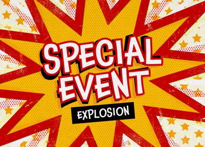 Special Event Pop Out Message Title Premier Pro MOGRT Feature