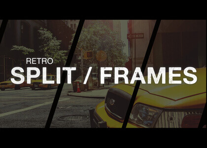 Retro_Split_Frames