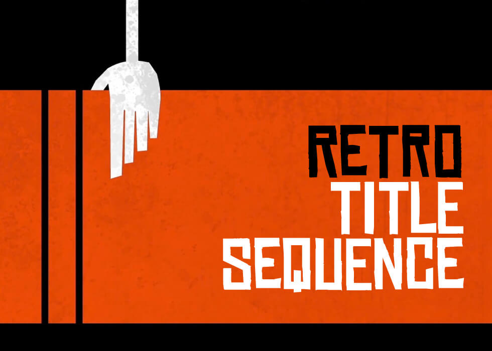 Retro_Titles After Effects Template