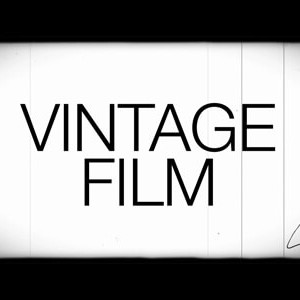 Vintage Film Kit Footage
