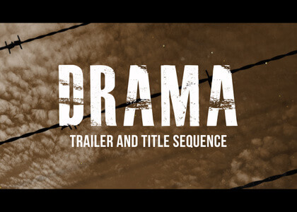 Drama_Titles After Effects Template