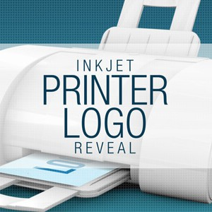 Ink_Jet_Printer_Logo After Effects Template